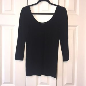 Ann Taylor scoop neck too
